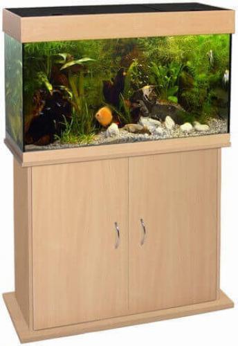 Caribbean Aquarium Cabinet - Beech