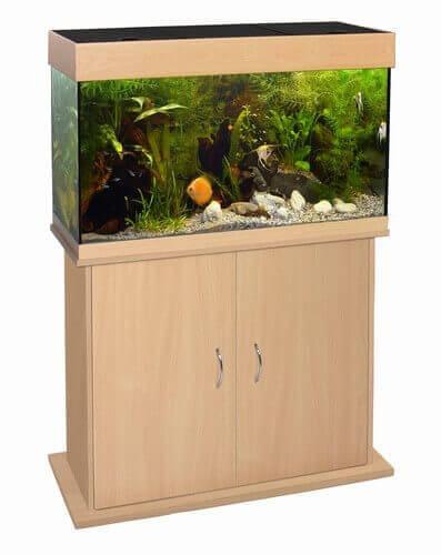 Caribbean Aquarium Cabinet - Beech_0