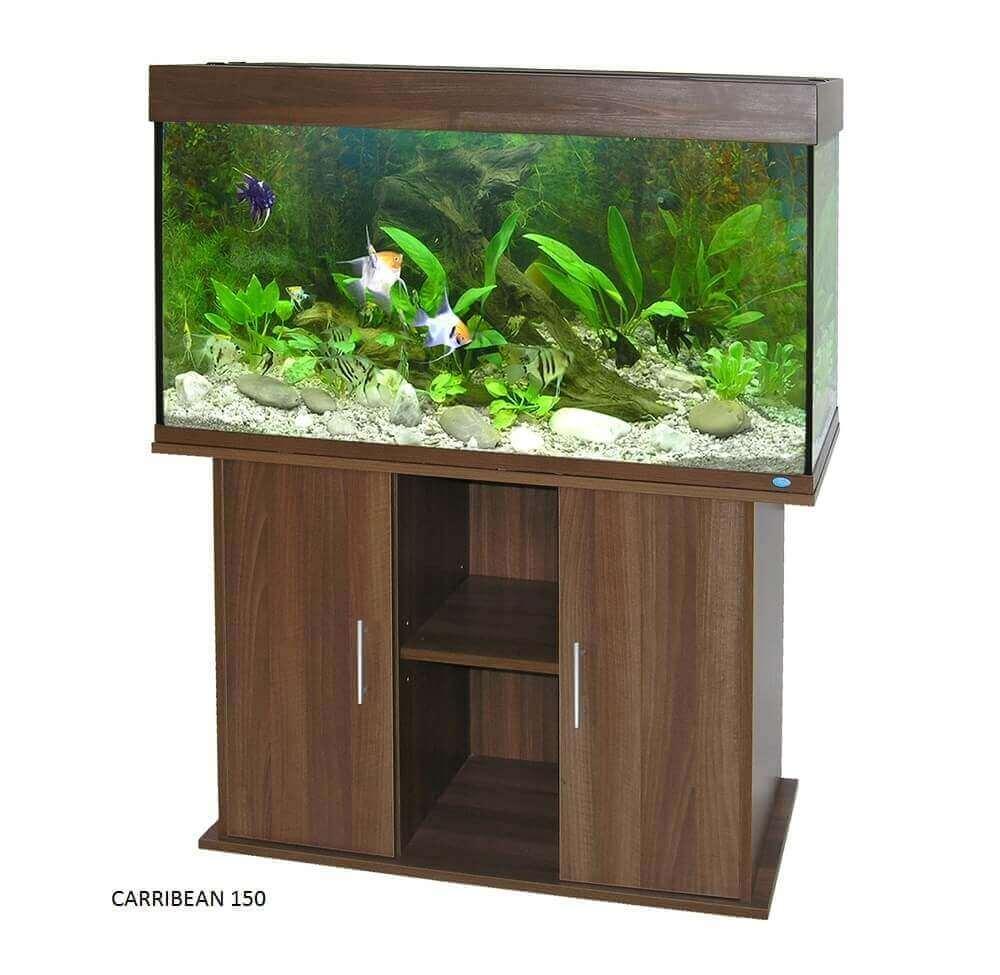 Caribbean Aquarium Cabinet - Wenge_1