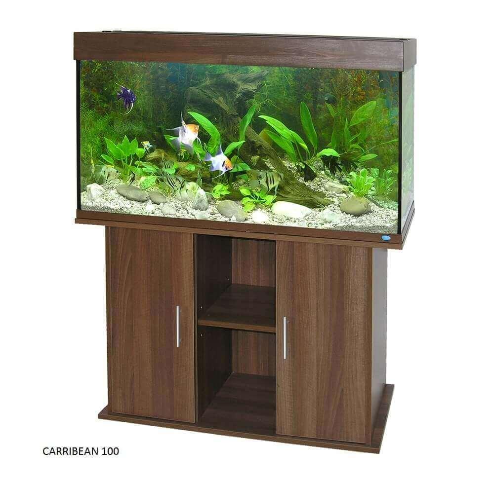 Caribbean Aquarium Cabinet - Wenge_3