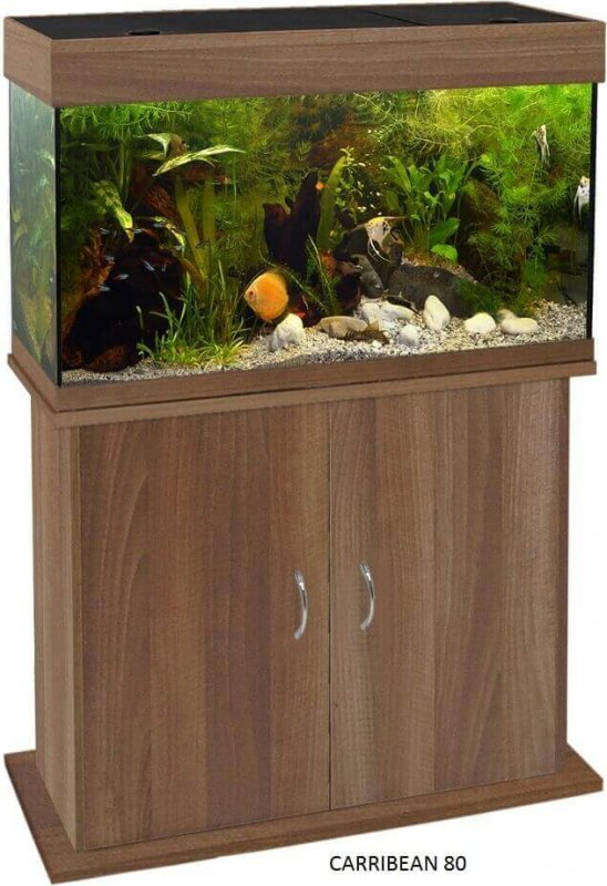 Meuble pour aquarium CARRIBEAN Wenge