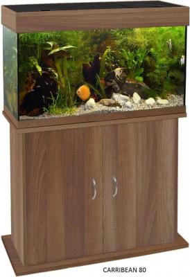 Caribbean Aquarium Cabinet - Wenge
