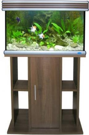 Aquarium set POSEIDON aluminium
