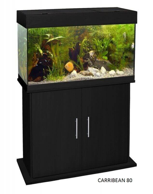 meuble pour aquarium carribean noir aquarium et meuble. Black Bedroom Furniture Sets. Home Design Ideas