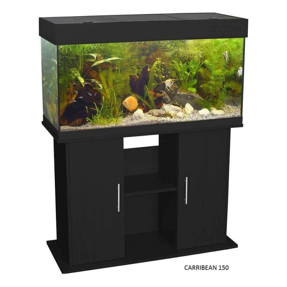 Meuble pour aquarium CARRIBEAN noir_2