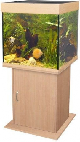 unterschrank f r aquarium poseidon in hellem holz aquarien m bel. Black Bedroom Furniture Sets. Home Design Ideas