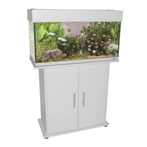 meuble pour aquarium ocean blanc aquarium et meuble. Black Bedroom Furniture Sets. Home Design Ideas