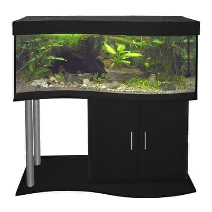 aquarium quip cap horn noir 218l aquarium et meuble. Black Bedroom Furniture Sets. Home Design Ideas