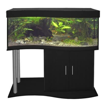 meuble pour aquarium cap horn 120 cm noir aquarium et meuble. Black Bedroom Furniture Sets. Home Design Ideas
