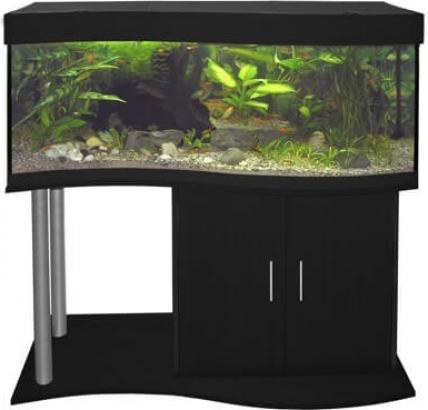 Meuble pour aquarium CAP HORN 120 cm noir