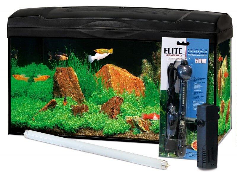 aquarium marina kit basic 54l aquarium et meuble. Black Bedroom Furniture Sets. Home Design Ideas