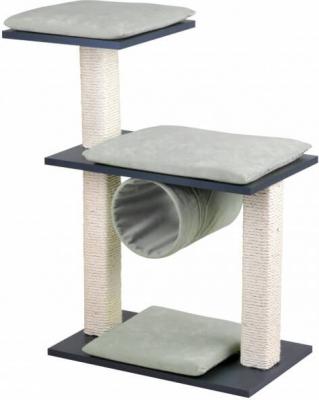 Arbre à chat Kratzstamm Cosy gris et noir