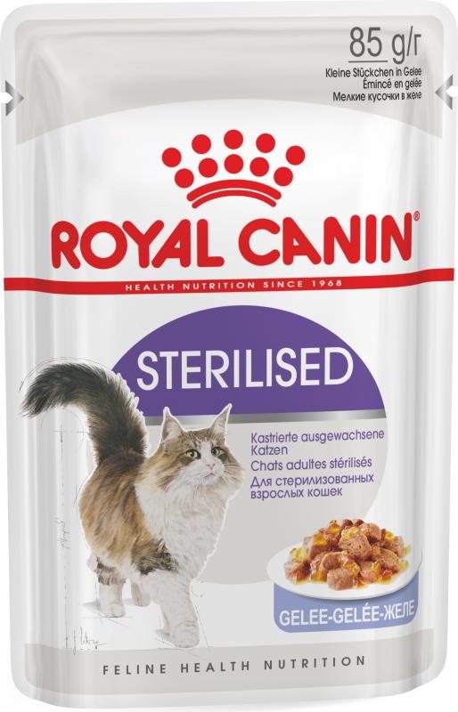 Royal Canin Sterilised Pâtée en gelée pour chat