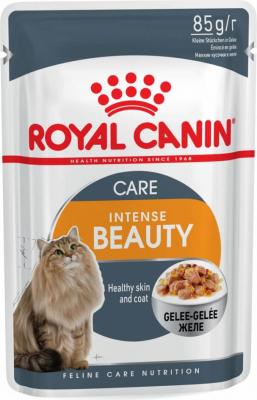 Royal Canin Intense Beauty Pâtée en gelée pour chat adulte