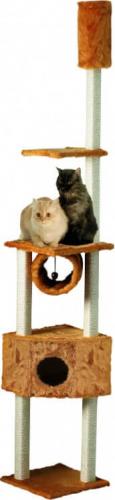arbre chat duo kratzstamm miel du sol au plafond arbre chat. Black Bedroom Furniture Sets. Home Design Ideas