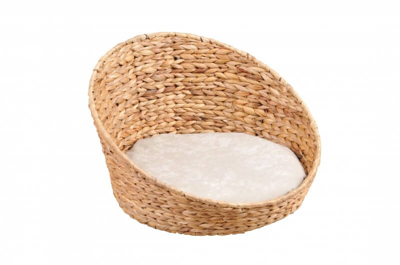 Panier Pour Chat Queeny Avec Coussin Sable Couchage Chat