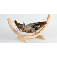 Hamac Relax beige pour chat - Beige