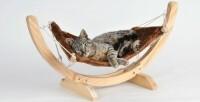 Hamaca Relax marrón para gatos