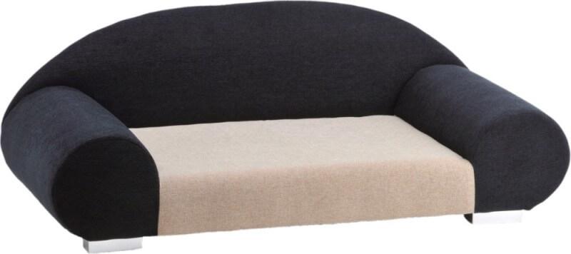 Canap pour chien amie noir blanc panier et corbeille for Canape pour chien