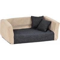 Canapé Buddy pour chien sable/ anthracite