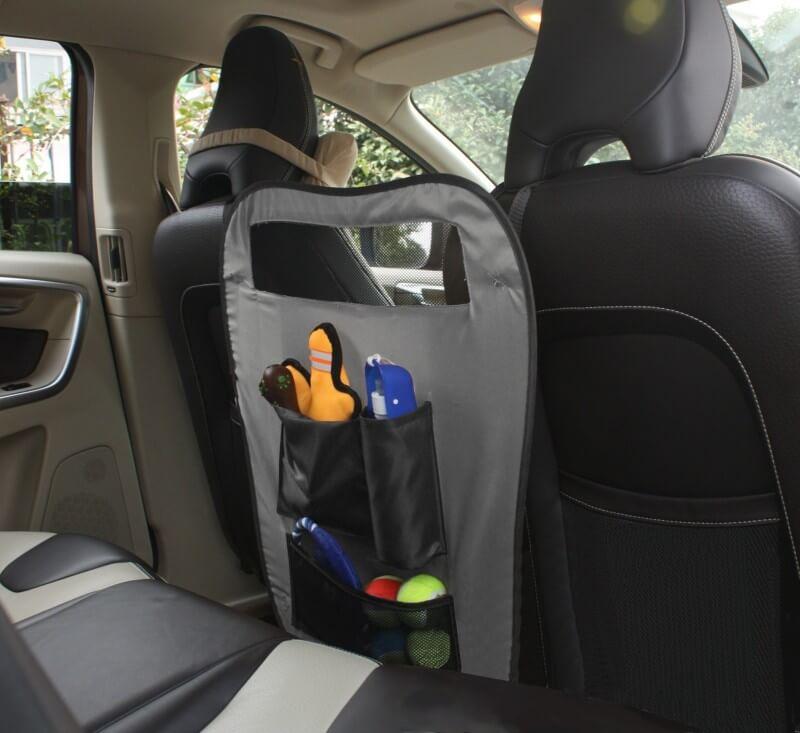protection de si ge avant avec rangement accessoires voiture chien. Black Bedroom Furniture Sets. Home Design Ideas
