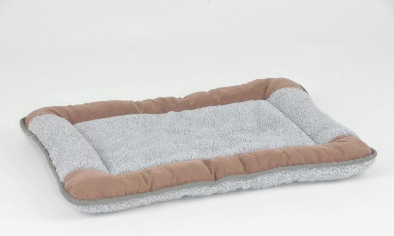 Coussin Charlie gris/beige pour animaux de compagnie