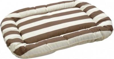 Cojín Soft Line marrón/beige para animales de compañía