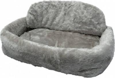 Panier pour animaux de compagnie de Luxe Gr. gris