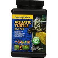 Granulés flottants Exo-Terra pour tortues aquatiques juvéniles, 265 g