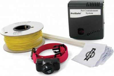 Clôture et collier anti-fugue pour chien Radio Fence PetSafe