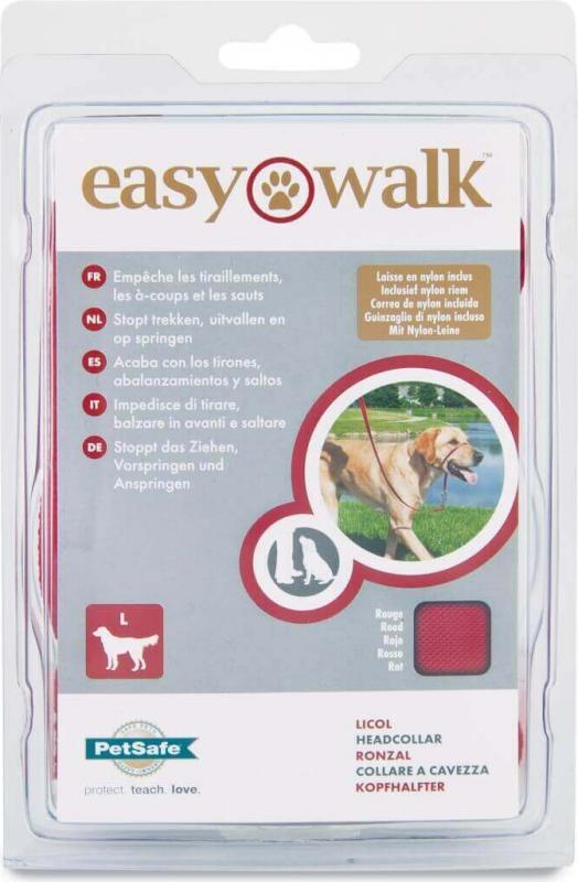 Licol EasyWalk chien Noir