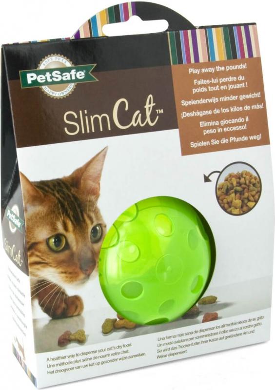 Slimcat - Interactief kattenspeelgoed - groen