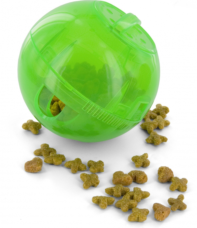 Slimcat Interactive Ball Toy - Green