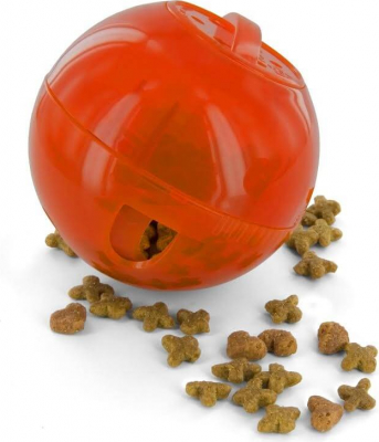 Slimcat Interactive Ball Toy - Orange