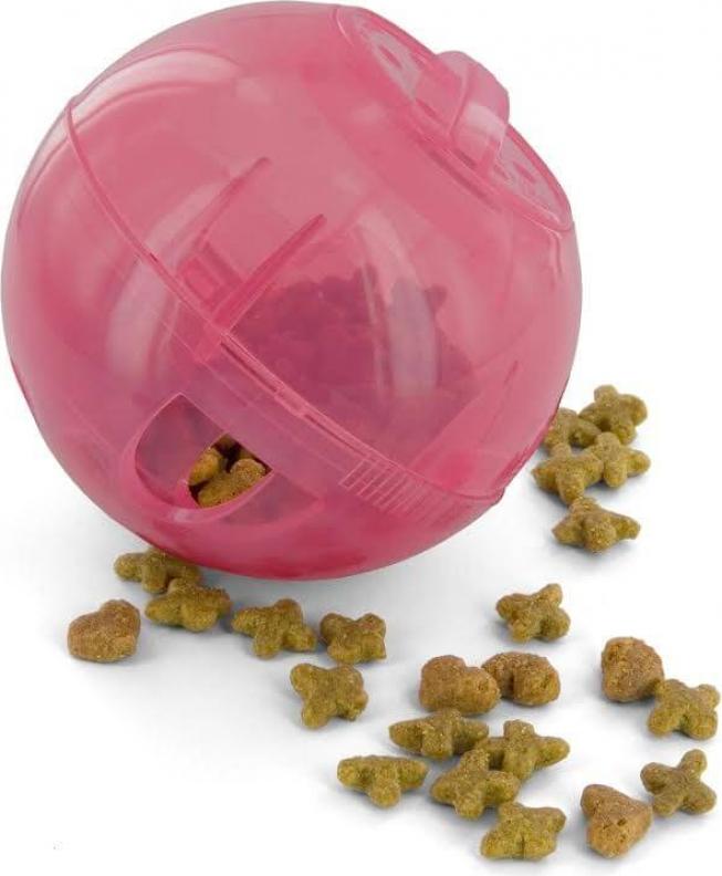 Slimcat - Interactieve bal voor katten - roze