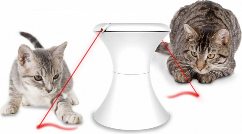 Jouet laser rotatif interactif Frolicat DART et DART DUO