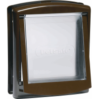 Porte Staywell® 2 positions - brun