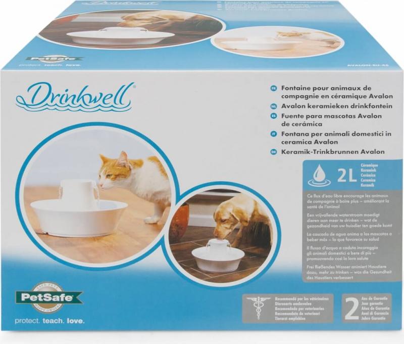 Fontaine Drinkwell céramique Avalon pour chien et chat