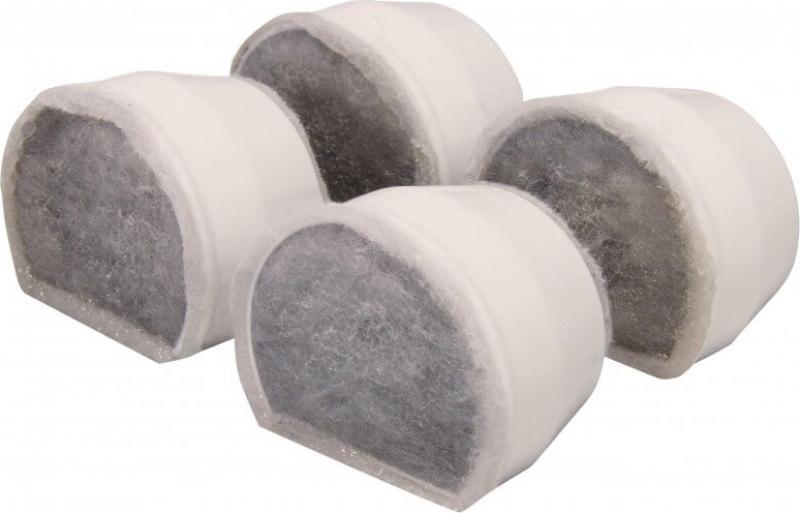 4 filtres de rechange charbon Drinkwell Avalon