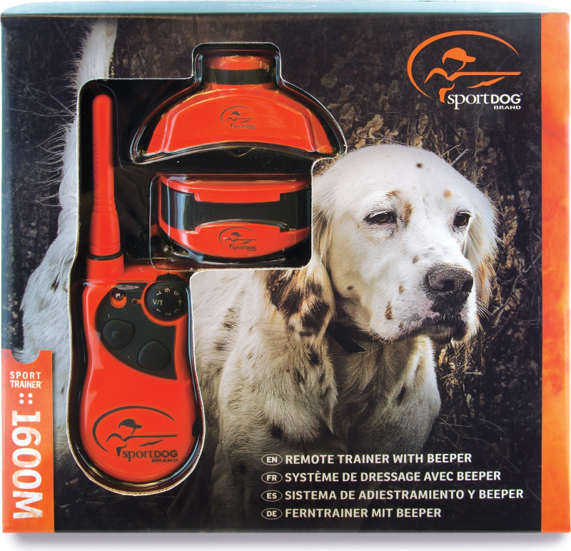 Collier de dressage & repérage 1600m PetSafe SD-1875E
