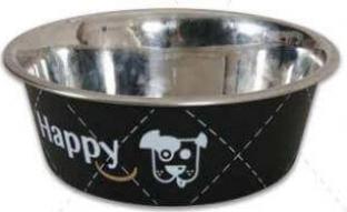 Ecuelle inox HAPPY noir