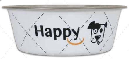 Ecuelle inox HAPPY blanc