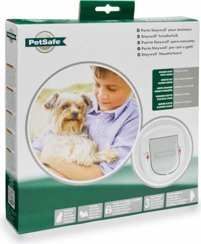 Porte gros chat et petit chien 280SGIFD Petsafe Staywell®
