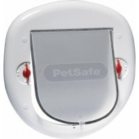 Porte Staywell® gros chat et petit chien 280SGIFD - Blanc