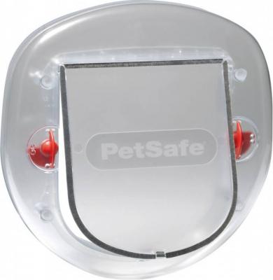 Porte Staywell gros chat et petit chien 270SGIFD - Nacré