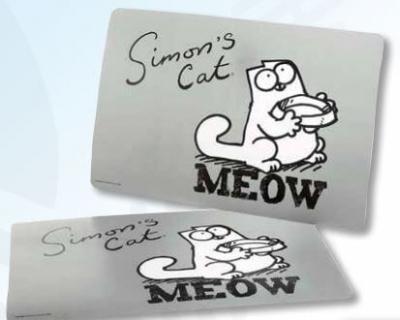Set de mesa  Simon's cat gris