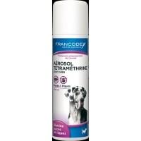 Francodex Aérosol Tetramethrine chat et chien 250ml