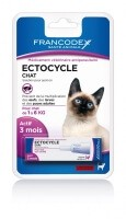 ECTOCYCLE GATO 1 pipeta 0.6ml (para gato de 1kg a 6kg)