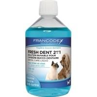 Francodex Fresh Dent 2en1 Chien et Chat