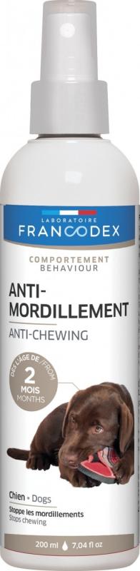 Francodex Spray anti-mordillement pour chiolets et chiens 200ml